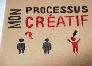 Une illustration amusante d'un process créatif