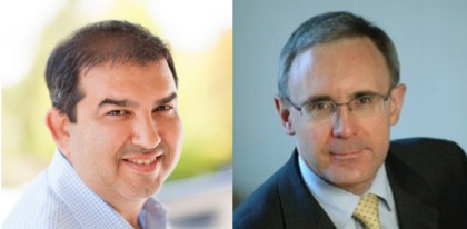 Omer Artun, CEO of AgilOne and Jack Voileau, Partner of Crescendo Consulting