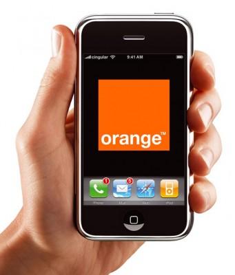 Orange téléphone mobile