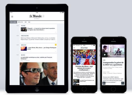 Application mobile du monde.fr