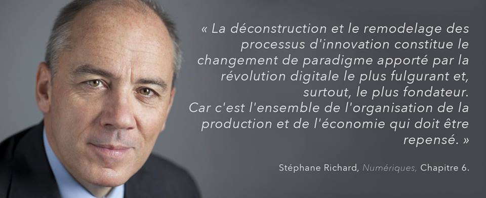 Stéphane Richard sur l'Open Innovation