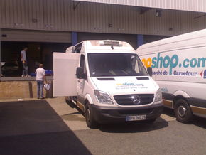 Distribution Ooshop par Carrefour
