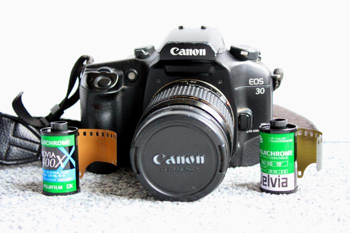 caméra argentique
