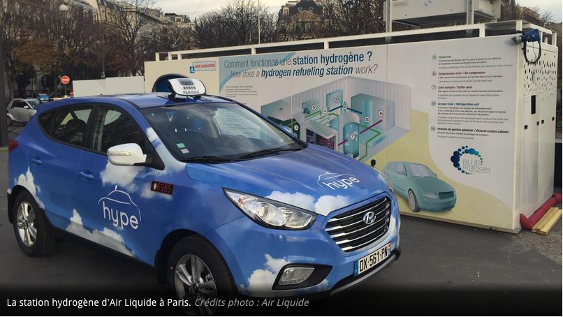La Station hydrogène d'Air Liquide à Paris - Photo Air Liquide