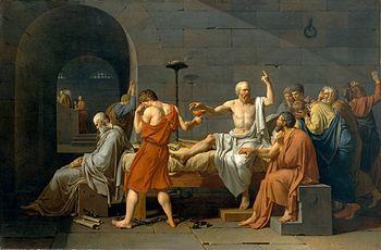 David - La mort de Socrates