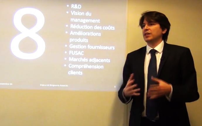 Croissance et Innovation - Guillaume Villon de Benveniste - Enjeux et Dirigeants