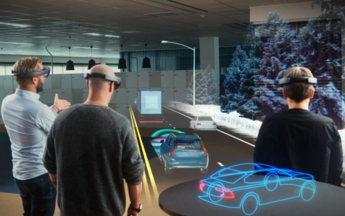 Volvo Virtual Reality with Microsoft-HoloLens - The Innovation and Strategy Blog