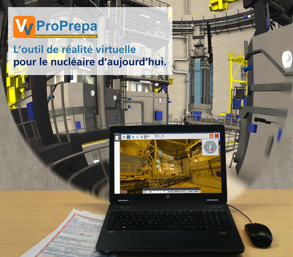 La realite virtuelle pour le nucleaire - EDF