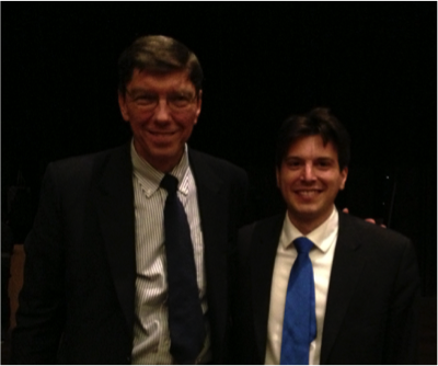 Clayton Christensen and Guillaume Villon de Benveniste