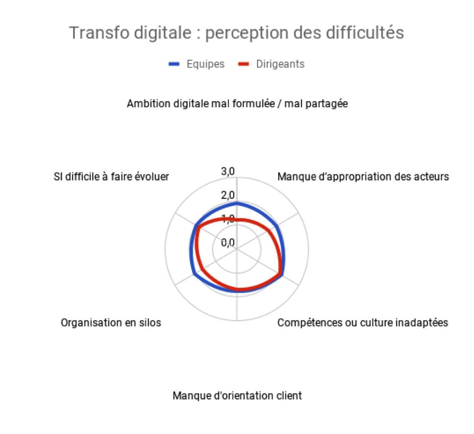 Transformation digitale - perception