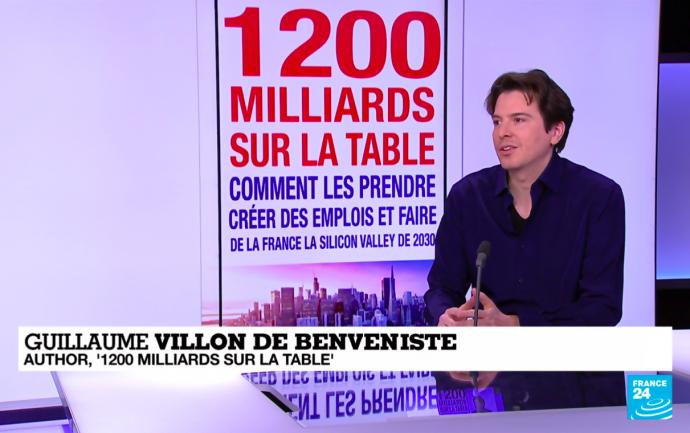 France 24 - Guillaume Villon de Benveniste - 1200 milliards sur la table - Michalon - Author