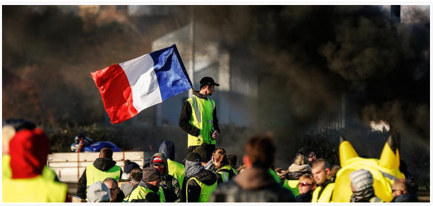 Gilets Jaunes - Copy Right - Philippe Grasset