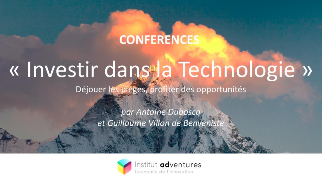Investir dans la technologique - Antoine Duboscq et Guillaume Villon de Benveniste