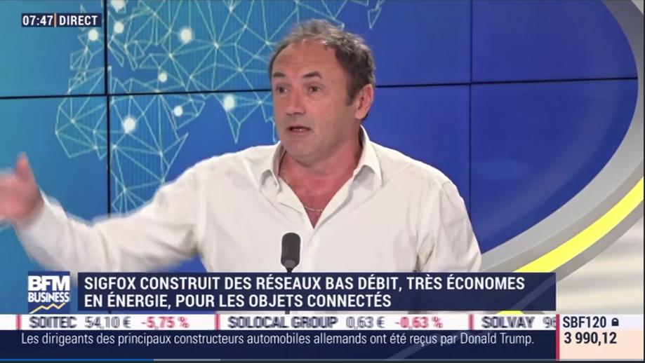 Ludovic Le Moan sur Good Morning Business chez Stephane Soumier sur BFM Business