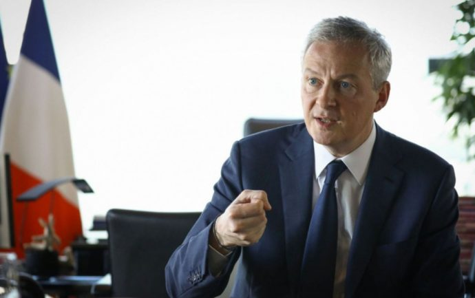 Bruno Le Maire - GAFA Tax - copyright - Le Parisien