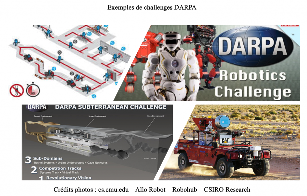 Exemple de challenges DARPA