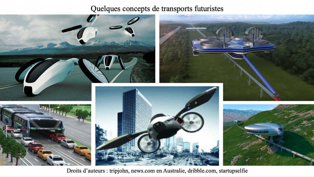 Quelques concepts de transports futuristes