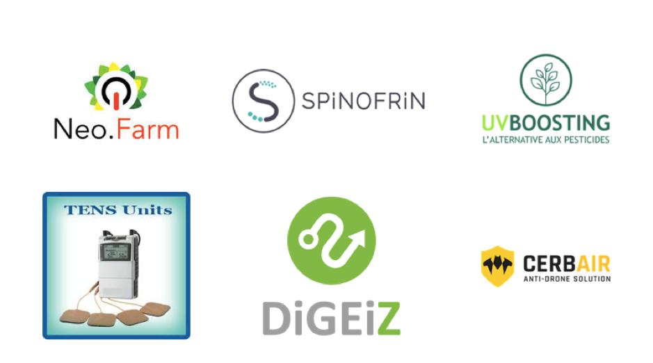 Les startups du portefeuille d'un startup studio de TechnoFounders - financement d'un startup studio
