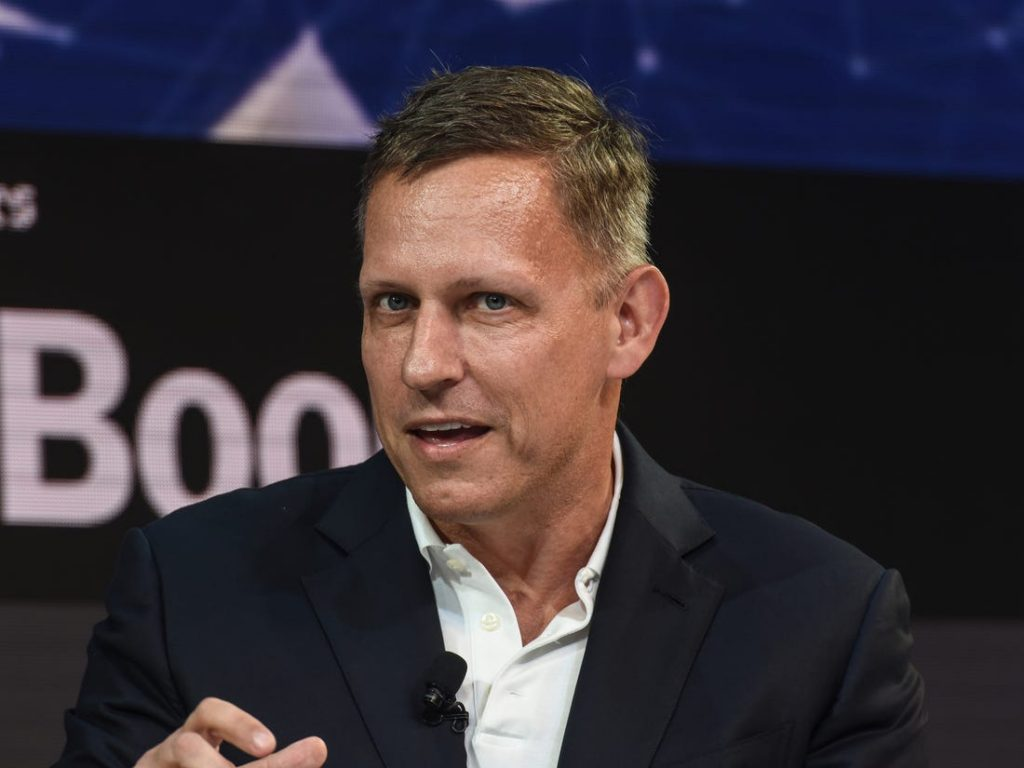 Peter Thiel - Copyright - Business Insider