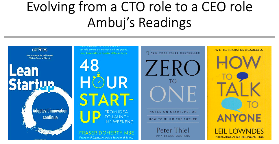 From a CTO role to a CEO role