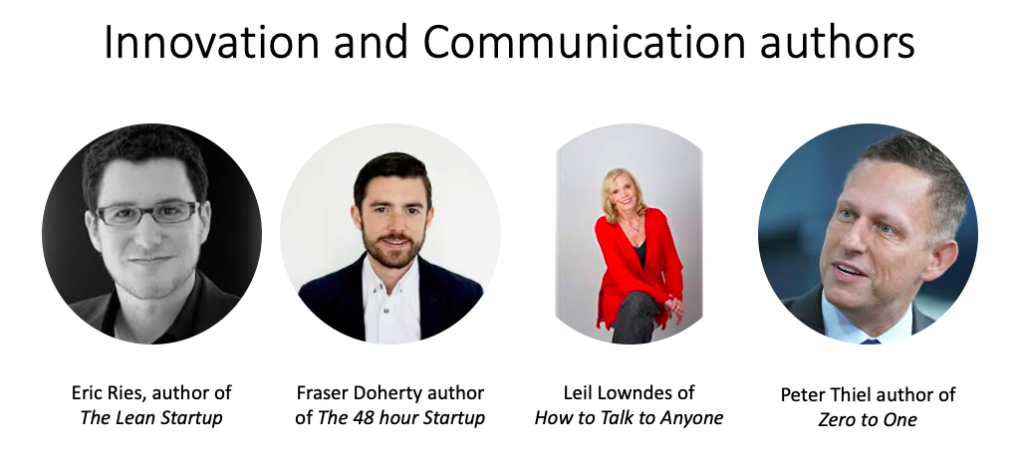 Innovation and Communication authors